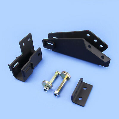 """1980-1996 Ford F150 Bronco 4WD Axle Pivot Drop W// Camber For 2-4/"""" Leveling Kit"""