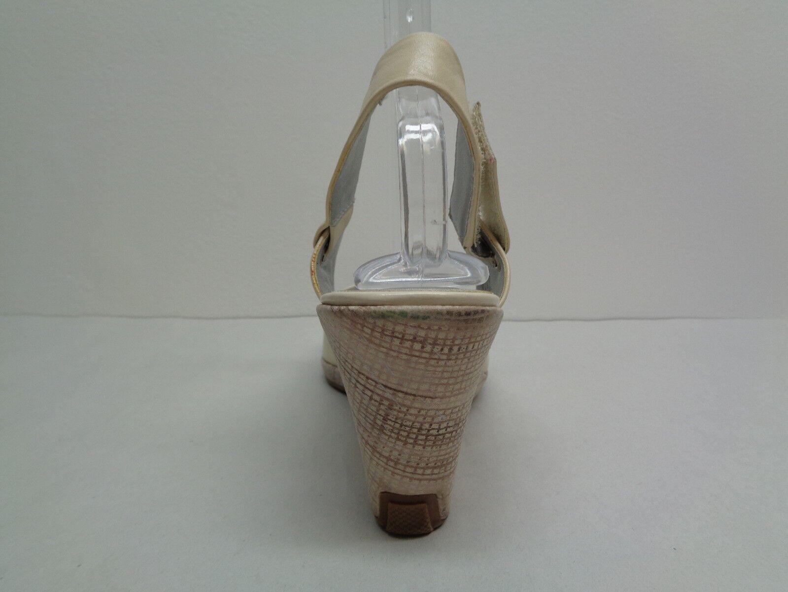 Kenneth Golpe Cole Talla 10 Let it Golpe Kenneth De Cuero blancoo Cuña Sandalias nuevo Zapatos para mujer d22f3e