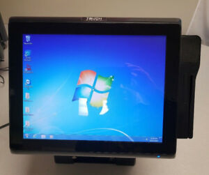 Details about TOUCH DYNAMIC J1900 All in One TOUCH SCREEN POS SYSTEM W/ MSR  READER & PRINTER
