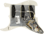 Genuine-Fender-Pre-Wired-Strat-Pickguard-Hot-Noiseless-SSS-Parchment thumbnail 2