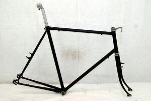 Fuji Vintage Touring Road Bike Frame 64cm X-Large Fork BB Lugged Steel Charity!