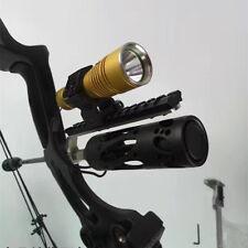 Compound bow Barrel Mount Holder for Laser sight & Flashlight Torch Night Hunter