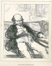 "Gavarni, Paul - ""les anglais estas eux"" de ""Masques et rostros"" mostrarían 1853"