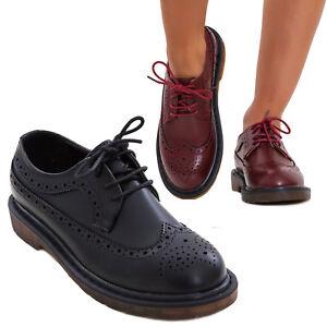 79b2fd9ed3cc9 La imagen se está cargando Zapatos-mocasines-de-mujer-atado-oxford-parisino- oxford-