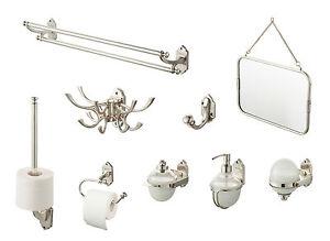 Details zu Bad Accessoires Vintage Haceka Badezimmer Ausstattung Klassisch  Luxus Edel