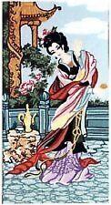 Oriental Geisha  Tapestry Canvas (50cm x 26cm) Gobelin L 36.352