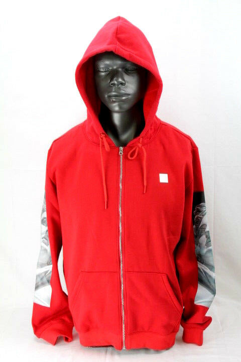 Hudson Outerwear FULL ZIP HOODY WITH SUBLIMINAL SLEEVES H5051316-DT-ROT