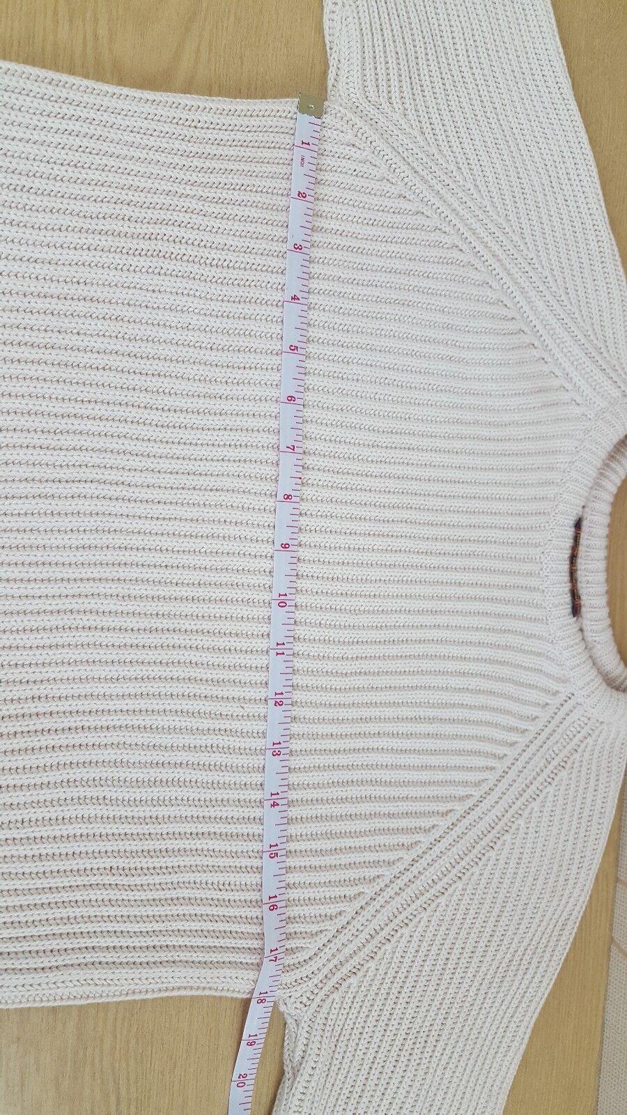 Maglione da Uomo Donna Unisex ECRU Maglione Maglione Maglione fisherknit 36