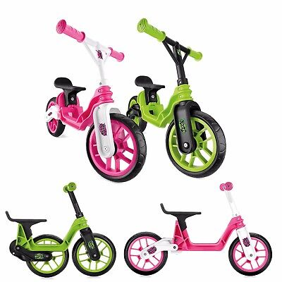 4da69a1c4e6 XOOTZ Kids Folding Balance Bike Childrens Beginner First Ride On Boys Girls  3+ | eBay