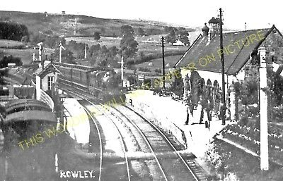 Rowley Railway Station Photo 3 Burn Hill to Blackhill and Consett Lines.