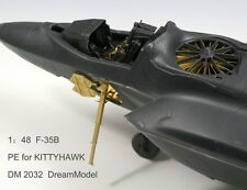 Dream Model 2032 1/48 F-35B Lightning II Detail Up Etching Parts for Kitty Hawk