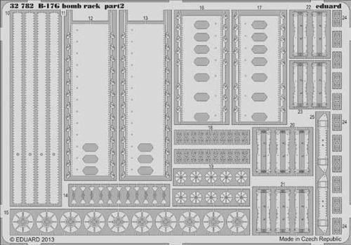 Eduard 1//32 Boeing B-17G Flying Fortress Bomb Rack # 32782