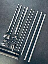 COLUMBUS CHROMOR TUBSET (TUBI) + SILVA LUGS - PISTA - ROAD RACING BICYCLE TUBING