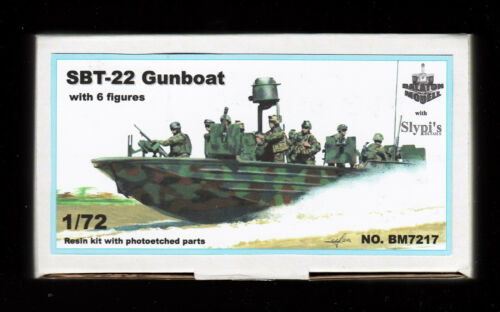 Resin TOPP BAUSATZ 1:72 SBT-22 Gunboat bm7217// Balaton Modell