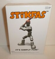 Baseball Player Grey Action Figure Kit Stikfas Model Kit Afk21l Pitcher Catcher