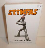 Baseball Player Grey Action Figure Kit Stikfas Model Kit Afk21l Pitcher Catcher