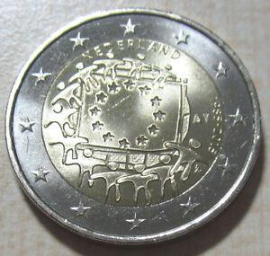 Europa 2015 Alle 2 Euro Münzen 30 Jahre Europaflagge Flagge