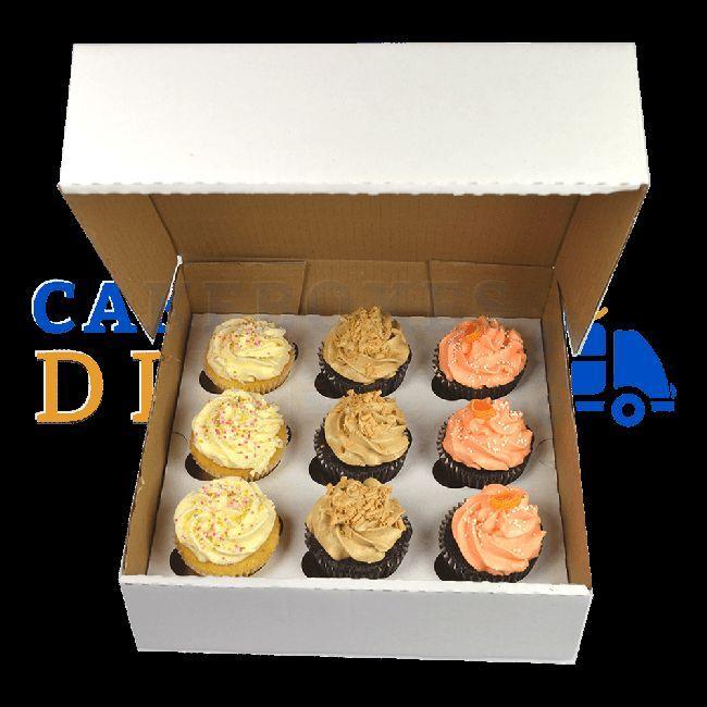 9 ondulé cupcake box diviseur  diviseur box le moins cher sur ebay c390ec