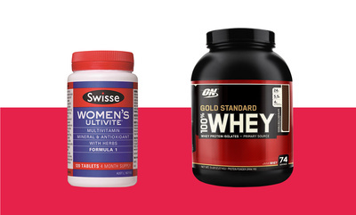 20% off* Selected Vitamins & Supplements