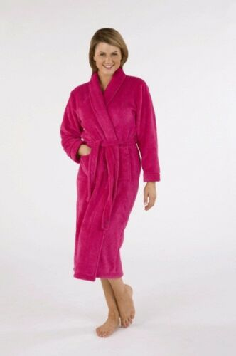 JEU.. Moon River Doux Luxe Polaire Peignoir//robe de chambre Couleurs Diverses