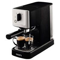 Krups Xp3440 Calvi Schwarz-edelstahl Espressomaschine Kaffeeautomat 1460w 1,1l