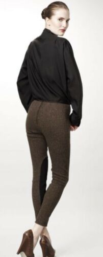 tweed de Mccartney It 990 d'équitation 44 8 mélange Pantalon us Stella anthracite en laine fAwUFnqU