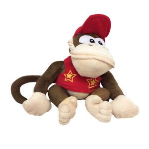 "Super Mario Plush Teddy Donkey Kong Soft Toy Size 9/"" 22.5cm NEW /& Tagged"