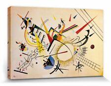 Wassily Kandinsky Himmelblau 1940 Poster Leinwand-Druck Bild 70x70cm #83030