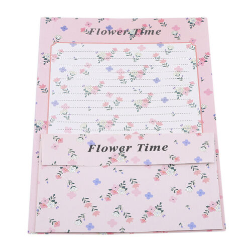 Letter Paper Stationery Office and School Supplies LG Cute Floral Bird Envelope