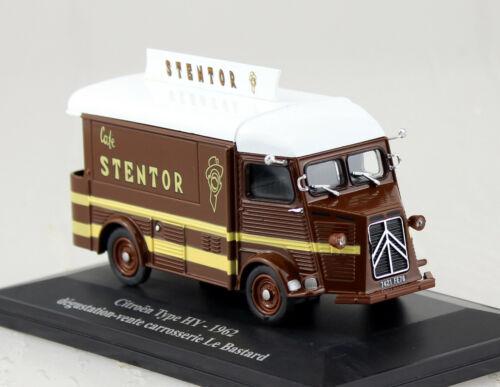 Citroen HY Collection HY 1962 Stentor 1:43 Hachette//Eligor