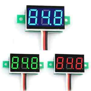 With-3-Wires-Mini-DC-0-100V-LED-3-Digital-Diaplay-Voltage-Voltmeter-Panel-Meter
