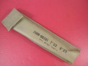 Details about post-Vietnam Era Israel IDF Colt Rifle Bipod Nylon Carry Case  - XLNT Condition