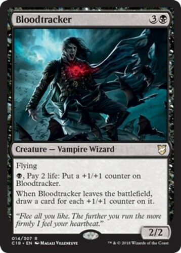 English-Bloodtracker-Commander 2018 MTG-1x-NM-Mint
