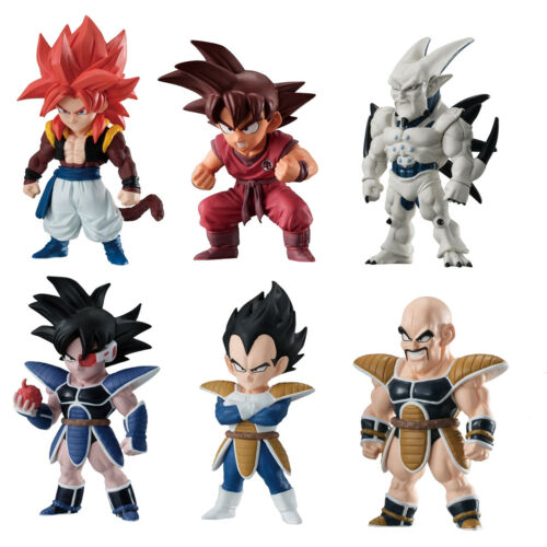 Dragon Ball Z Super Adverge Nappa Character Candy Toy Mini Figure Vol.8 Anime
