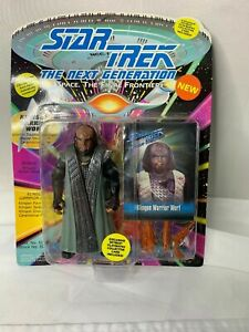 Star-Trek-The-Next-Generation-Klingon-Warrior-Worf-1993-Playmates-Collectible