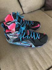 08cf6ae6df46 ... low price item 1 mens size 11.5 nike lebron 12 xii chromosomes black  pink blue shoes