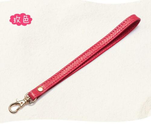 Genuine Leather Wristlet Wrist Bag Strap Replacement For Clutch Purse Handbag