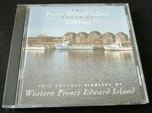 CD-The-Prince-Edward-Island-Style-of-Fiddling-Rounder-Canada-Records-Album