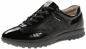 Ecco golf women s street evo one luxe black black sneaker us