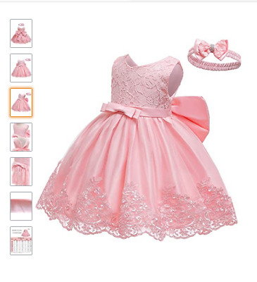 LZH Baby Girls Dress Ball Gown Party Wedding Special Princess Dresses