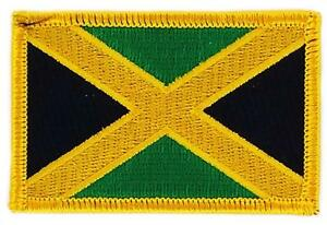 Patch-Embroidered-Patch-Flag-Jamaica-Flag-Thermoadhesive-Coat-of-Arms