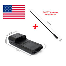 UV-5R/plus 6XAA Extended 2 way radio Battery Case Shell for Baofeng with Antenna