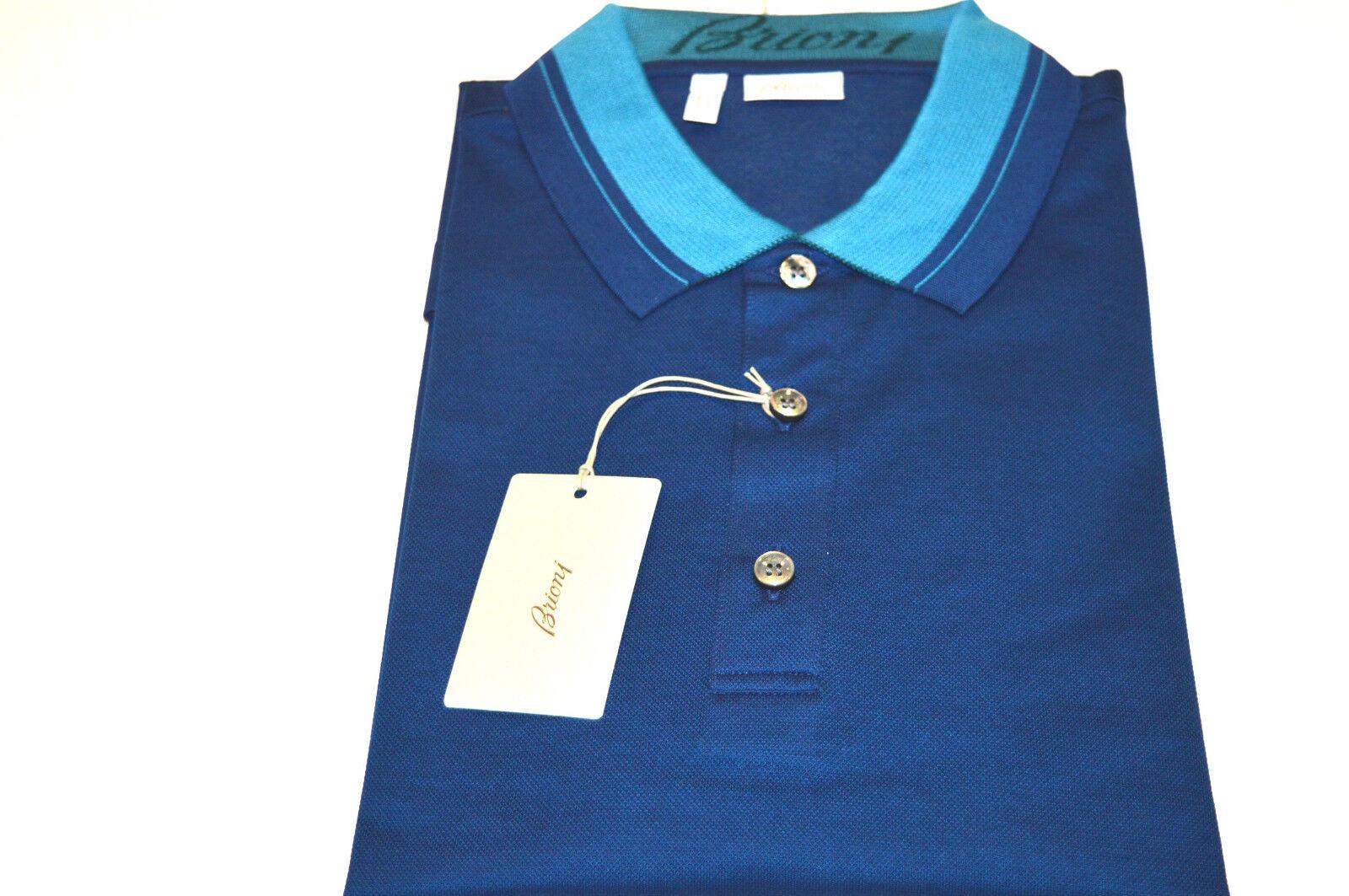 b8f104106e6 NEW BRIONI Polo Short Sleeve Cotton Size L Us Eu 52 (Cod Tubic6 ...