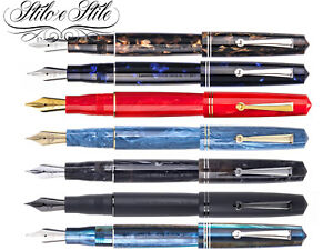 Leonardo-Officina-Italiana-Momento-Zero-Resin-Penna-Stilografica-Fountain-Pen