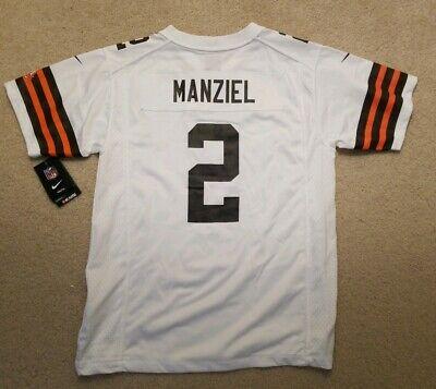 promo code 79ca5 099e9 🔥🔥New Nike Johnny Manziel Cleveland Browns Replica Football Jersey Youth  XL | eBay