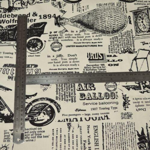 LL404g Black Beige Antique Vehicle Poster Cotton Yoga Bolster Case Cushion Cover