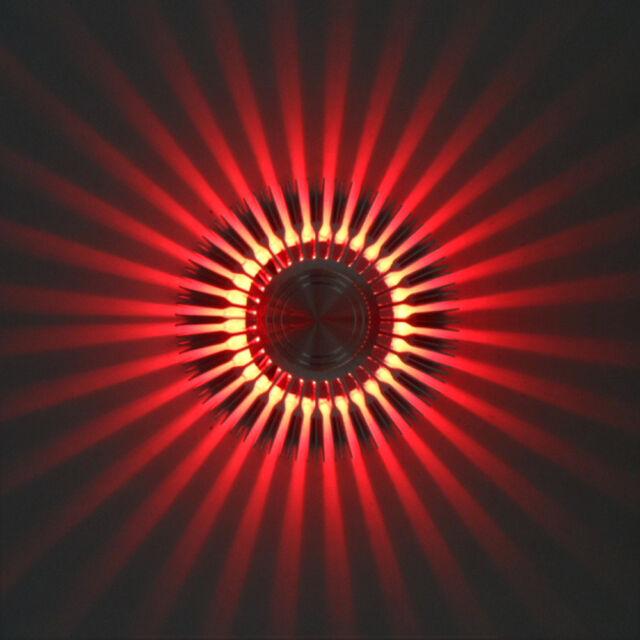 3W LED Wall Sconce Porch Hall KTV Bar Cafe Disco Modern Light Decor Fixture Lamp