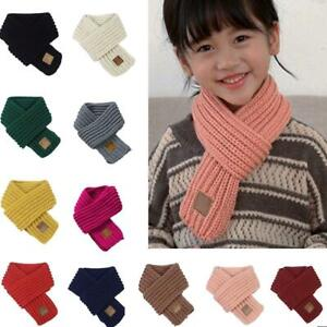 Kids-Knitted-Scarf-Thickened-Winter-Warm-Cotton-Shawl-Scarves-Wrap-Xmas-Gift