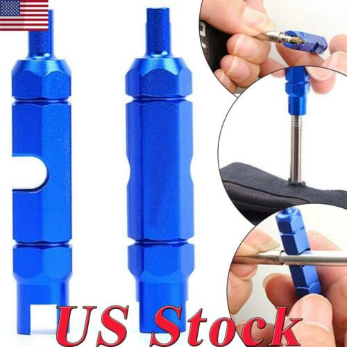 Double-head MTB Bicycle Bike Wrench Valve Core Disassembly Tool for resta Valve