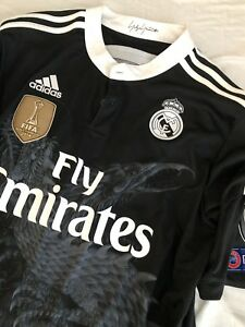 finest selection a2fdf 1dad8 Details about Real Madrid Y3 Yohji Yamamoto Y-3 14-15 Dragon Kroos Bayern  Jersey Shirt Large L